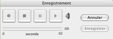 Ciel professionnel indépendant Mac: enregistrement d'une alerte