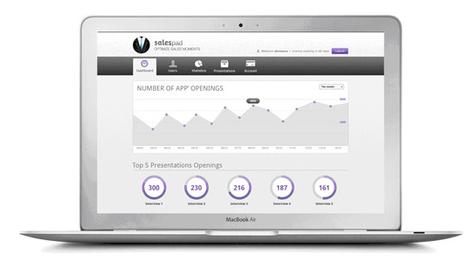 Salespad, le logiciel de CRM sur ipad