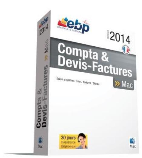 EBP Compta et Devis Factures Mac 2014
