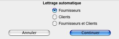 Le lettrage automatique dans Agri4D