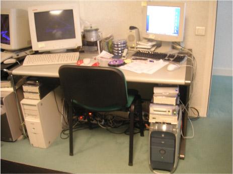 serveur mac et windows chez un expert-comptable