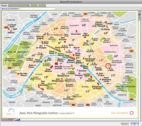 Importer une carte géographique dans Ciel Gestion Commerciale Mac *