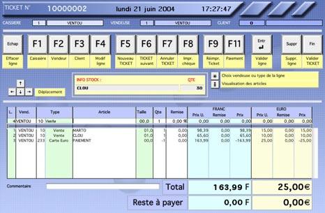 logiciel mac kinhelios TPV