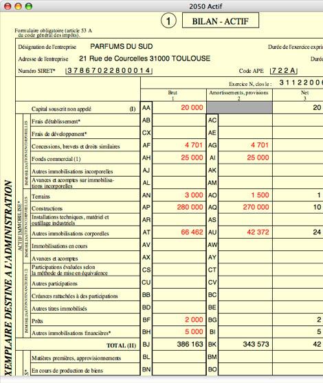 liasse fiscale 2031