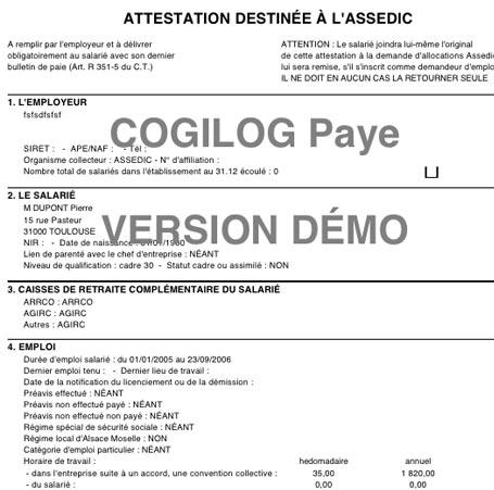 Modele Certificat De Travail Solde De Tout Compte Document Online