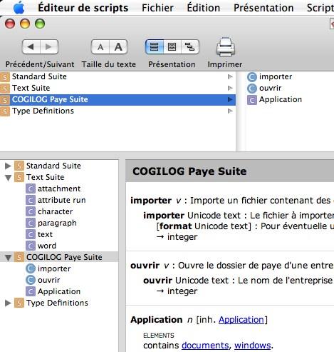 AppleScript et cogilog paye pro