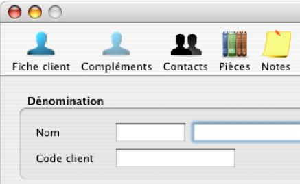 Cogilog: les fiches clients