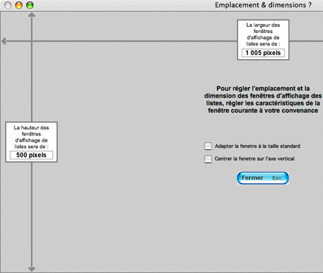 Fenêtre de travail de Compt'up s'adaptant à la résolution de l'écran