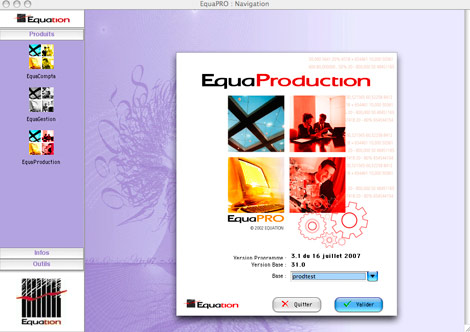 Lancement d'EquaProduction *