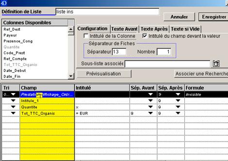 Gipco *, logiciel de gestion de congrès