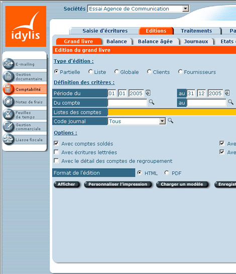 Idylis Comptabilité PME
