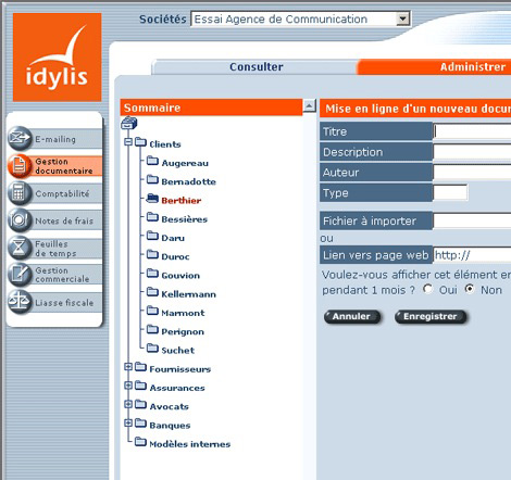Idylis Gestion Documentaire