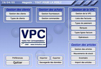 Macgestion kinhelios vpc logiciel de vente par correspondance - Site de vente par correspondance ...