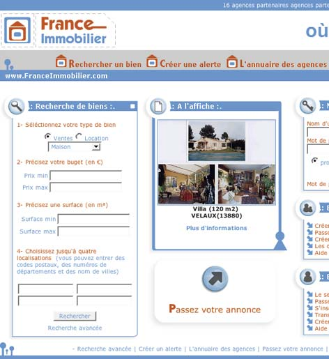 logiciel mac immo image: portail france-immobilier
