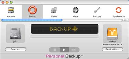 logiciel intego personal backup