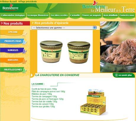 site web marchand réalisé par power à lyon