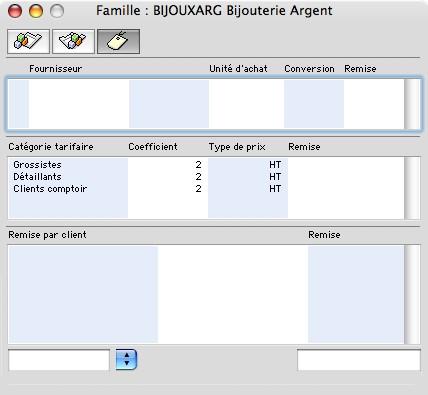 Sage Gestion Commerciale 30 v14 Mac: famille d'articles