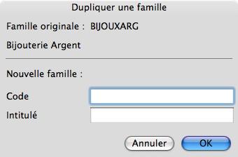 Sage Gestion Commerciale 30 v14 Mac: dupliquer une famille d'articles