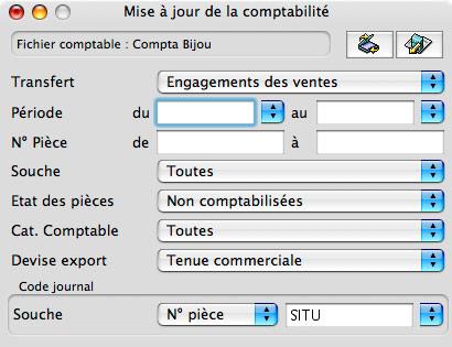 Sage Gestion Commerciale 30 v14 Mac: mise à jour de la comptabilité