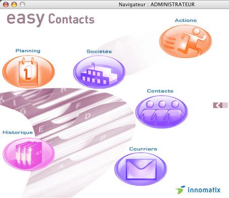 Le logiciel Easy Contacts peut être interfacé avec Tous Comptes Faits Entreprise